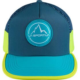 La Sportiva Trail Trucker Hat Opal/Tropic Blue